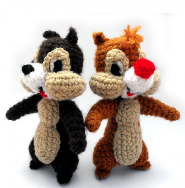 cip e ciop walt disney schema gratis uncinetto crochet ...