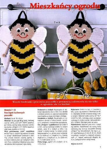 presine a forma di api