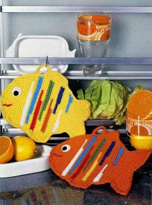 presine a forma di pesce
