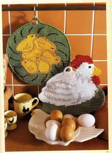 presine a forma di galline