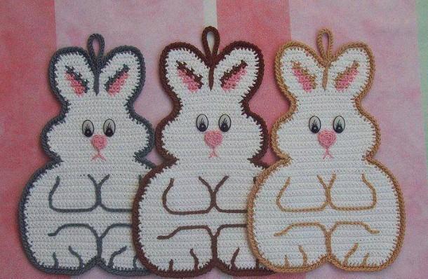 presine a forma di conigli
