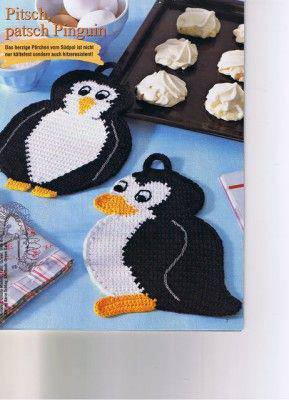 presine a forma di pinguino