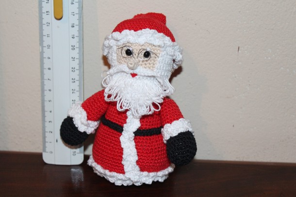 Amigurumi Tutorial Natale : babbo natale amigurumi uncinetto schema gratis pupazzo bambini