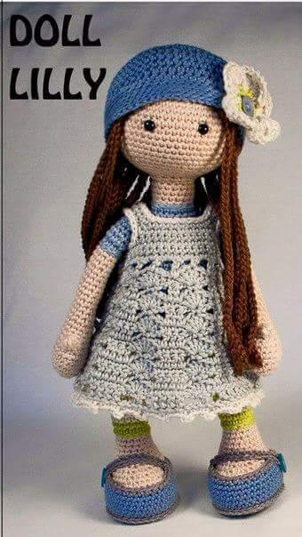 Bambole Schema Gratis Amigurumi Crochet Tutorial Uncinetto
