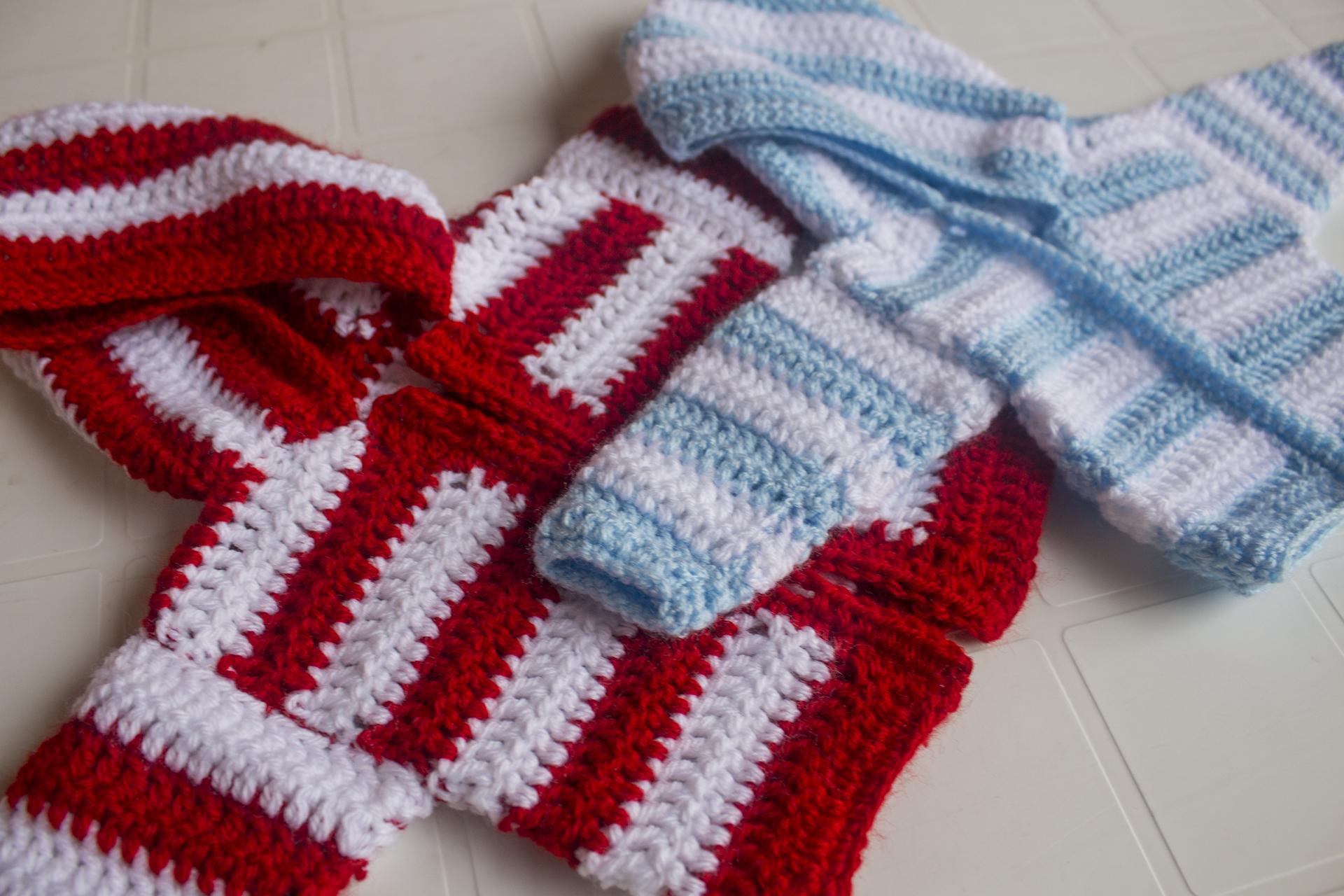 Giacca A Righe 0 6 Mesi Tutorial Schema Gratis Crochet Uncinetto