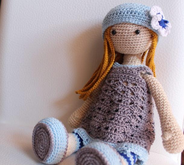Bambolina Lilly Amigurumi Schema Gratia Crochet Uncinetto