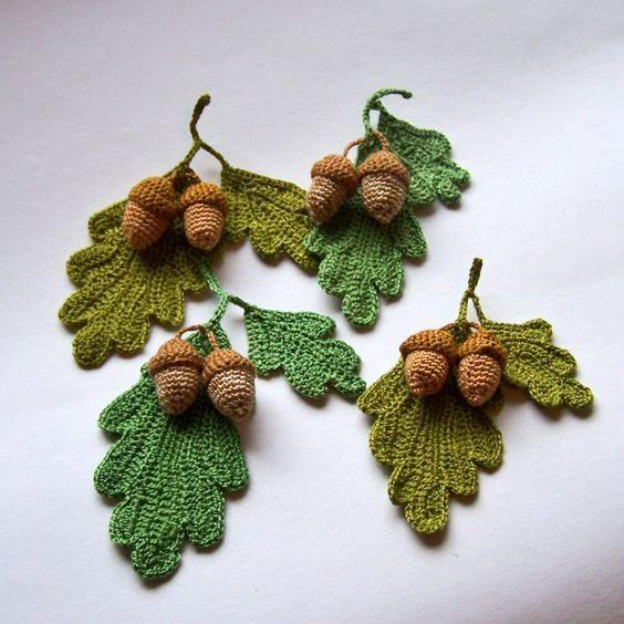 Ghiande Schema Gratis Amigurumi Tutorial Uncinetto Crochet