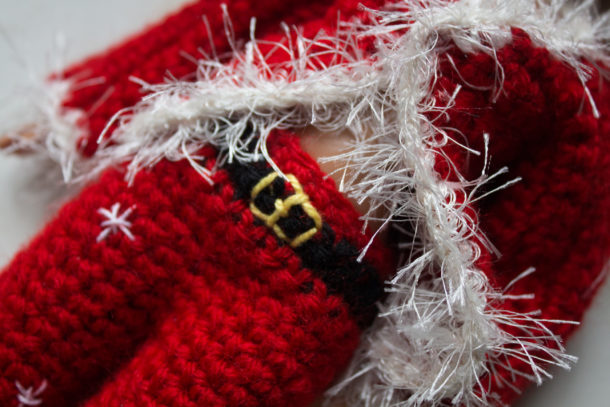 Vestito Babbo Natale Barbie Tutorial Schema Gratis Uncinetto Crochet