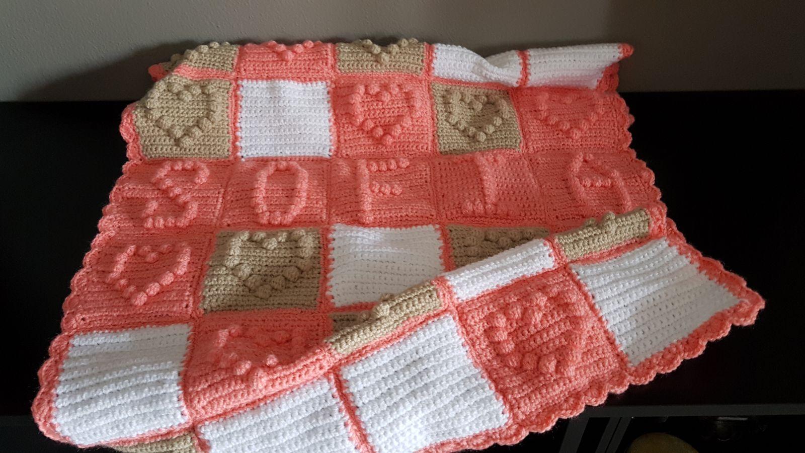 Copertina Punto Nocciolina Punto Bobble Tutorial Amigurumi Crochet