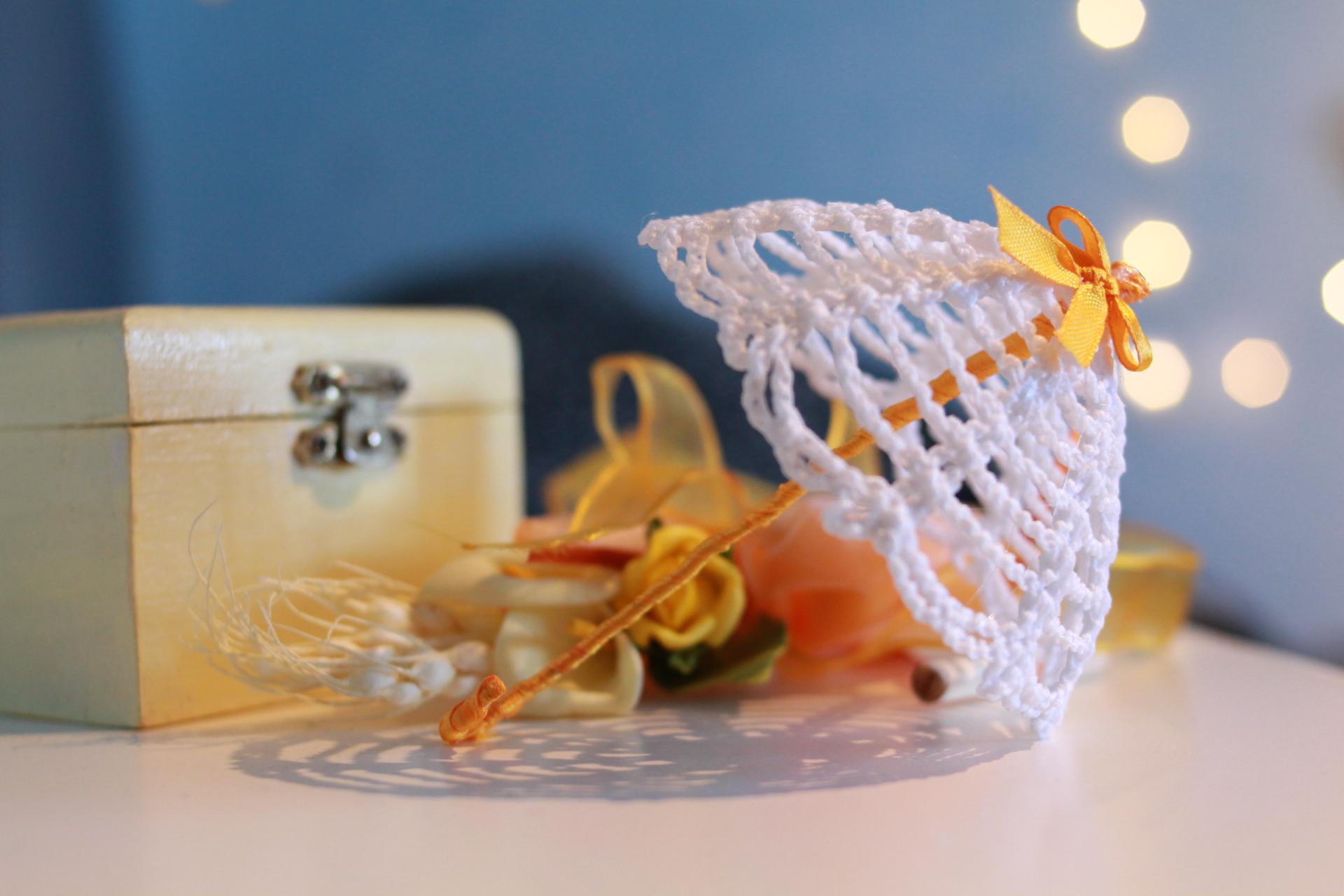 Ombrellino Schema Gratis Tutorial Crochet Uncinetto Amigurumi